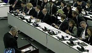Govor Predsednika Tomislava Nikolića na sjednici generalne skupštine UN-a o selektivnoj pravdi pred MKSJ