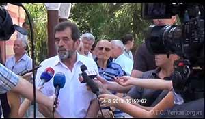 Nedjelja, 4.8.2013. Parastos stradalim Srbima u Hrmu Svete Trojice