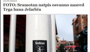 Nalepnica Serbian Family Tree Foto: Danas.hr / Blic