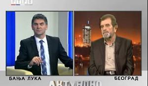 Hrvatska - za Srbe (ne)spremna –  RTRS, Aktuelni razgovor 09.12. 2013.