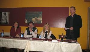 """Predstavljanje knjige Save Štrbca """"Zvjezdan"""" u Pratelnu,17. 11. 2011."""