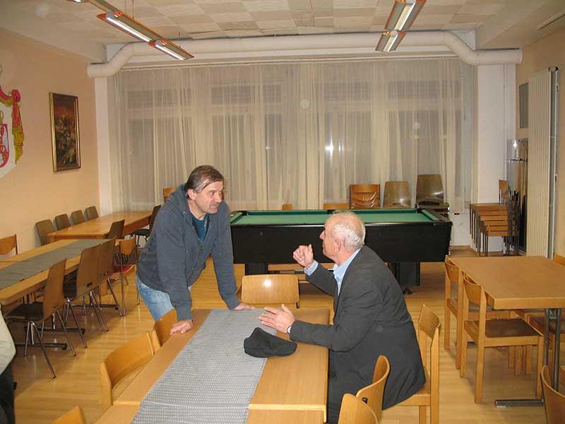 """Predstavljanje knjige Save Štrbca """"Zvjezdan"""" u Cirihu, 15.11.2013."""