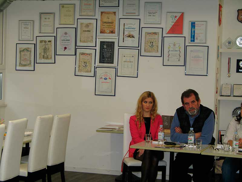 """Predstavljanje knjige Save Štrbca """"Zvjezdan"""" u Bazelu, 16.11.2013."""