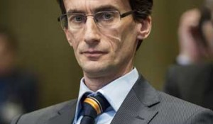 Saša Obradović, agent Srbije pred Međunarodnim sudom pravde u Hagu Foto: FoNet, UN