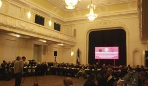 Otvaranje šeste međunarodne konferencije Genocidni zločin Nezavisne Države Hrvatske nad Srbima, Jevrejima i Romima u Drugom svjetskom ratu, Banja Luka, 19. maj 2014.