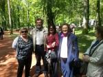 Savo Štrbac sa učesnicima komemoracije iz Opatije, Donja Gradina, 27.04.2014.