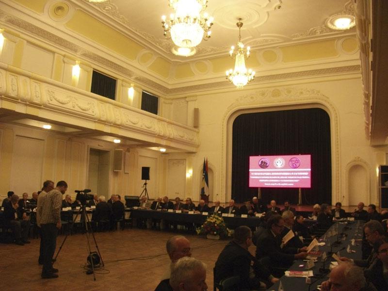 Otvaranje 6. međunarodne konferencije o Jasenovcu, Banja Luka, 19.05.2014.