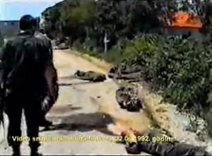 Miljevački plato, snimak 142 brigade HV, 22.06.1992.