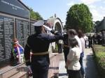 Полагање вијенаца на гробљу Св. Пантелије, Бања Лука, 4.8.2014. гото: Веритас БЛ