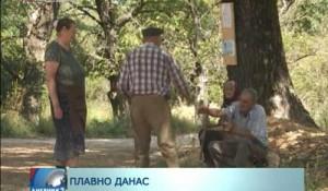 РТРС у Плавном, селу недалеко од Книна - нема пута до Грубора, 5.8.2014.