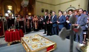 RTS: Parastos žrtvama krajiških Srba, Crkva Sv. Marka, 4.8.2014.
