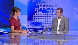 Savo Štrbac u Dnevniku 3 RTS, 29.8.2014.