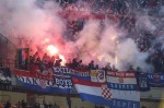 Ustaške pesme i zastave na utakmici Italija – Hrvatska u Milanu – [Video]