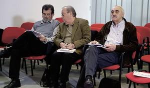 DEBATA: Predstavnici izbegličkih udruženja: Savo Štrbac, Rade Matijaš, Milojko Budimir