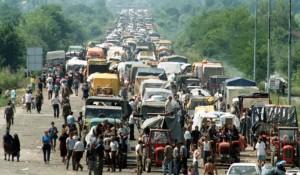 """""""Oluja"""", izbjeglička kolona, 4. 8.1995."""
