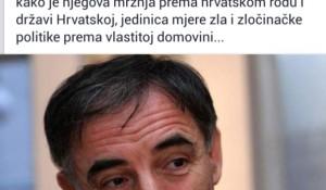 Главаш о Милораду Пуповцу, Фејсбук