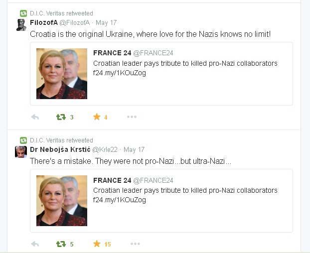 HOP ima pribedbe na pisanje France24