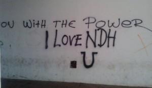 Zadar: Ustaški grafiti na Dan pobede Foto: Zdnews.hr