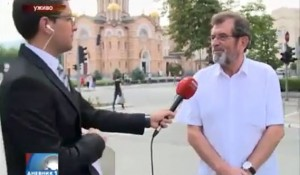 "RTRS, 04.08.2015., Dnevnik1: Savo Štrbac govori o stradanju Srba u ""Oluji"" Foto: Screenshot"