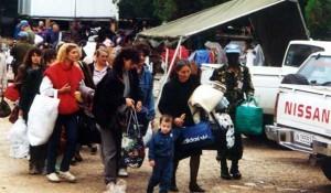 Камп УНПРОФОР-а у Книну, Срби заробљени у Олуји Фото: ДИЦ Веритас