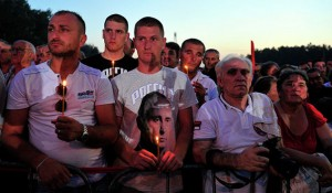 Obeležavanje 20 godina progona Srba, Sremska Rača, 4.8.2015. Foto: Tanjug / Dragan Stanković, Sputnik