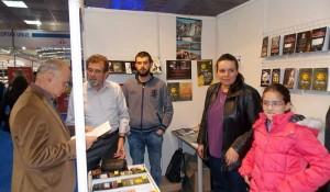 Štand DIC Veritas na 60. beogradskom Međunarodnom sajmu knjiga, 2015.