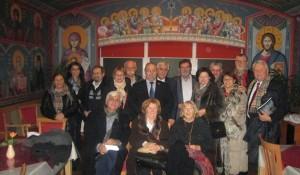 Gostovanje Save Štrbca na programu Kultura sećanja - SPKD Prosvjeta, Beč, 11.12.2015. Foto: DIC Veritas, Srđan Štrbac