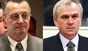 Jovan (Jovica) Stanišić, Franko (Frenki) Simatović Foto: ICTY