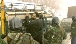 Hapšenje Gorana Hadžića Plitvice, 31.3.1991. Foto: Screenshot