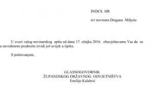Odgovor državnog odvjetništva Foto: Index.hr, screenshot