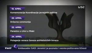 "B92: Josipović o ""ustaškoj zmiji""; Štrbac: Prelomno…"