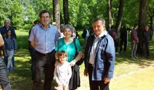 Delegacija DIC Veritas na komemoraciji žrtvama hrvatskog ustaškog logora Jasenovac u Donjoj Gradini , 8.5.2018. Foto: DIC Veritas