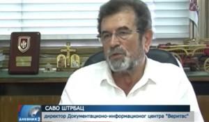 RTRS, Dnevnik 2: Žestoka reagovanja Srpske i Srbije na ukidanje presude Glavašu, 29.7.2016. Foto: Screenshot