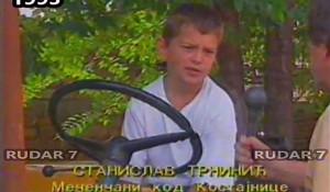 """Mali junaci """"Oluje"""": Stanislav Trninić (11), Mečenčane, Kostajnica Foto: ScreenShot Youtube"""