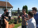 "Banjaluka: Položeni vijenci na spomenik palim Krajišnicima na Perduovom groblju, 4.8.2016. Foto: DIC ""Veritas"" / Predrag Cupać"