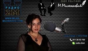 Radio 2M, Intervju nedelje – gost Savo Štrbac, 6.9.2016. Foto: Youtube, screenshot