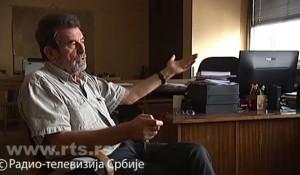RTS, Dnevnik2, 22.9.2016. Da li je politika jača od prava u slučaju ratnih zločina? Izjava Save Štrbca Foto: Screenshot