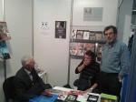 """Drugi dan 61. međunarodnog sajma knjiga – prvi gosti Veritasovog štanda, 25.10.2016. Foto: DIC """"Veritas"""""""