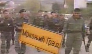 Ulazak HVO i HV u Mrkonjić Grad Foto: screenshot Youtube