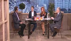 TV Pink, Dobro Jutro - Jovana & Srđan - Nikola Šainovic i Savo Štrbac, 23.01.2017. Foto: Screenshot