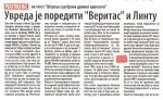 """Вечерње новости, 11.01.2017., Саво Штрбац: Увреда је поредити """"Веритас"""" и Линту"""