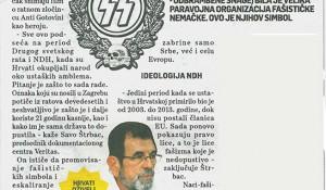 Hrvati formirali Hitlerovu SS diviziju, Srpski telegraf, 14.02.2017. Foto: screenshot