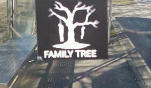 Srpsko porodično stablo ponovo na ulicama Vukovara, 24.2.2017. Foto: Tviter