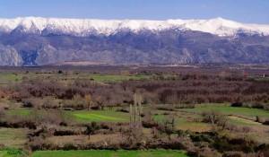 Velebit viđen preko Ravnih Kotara Foto: Internet