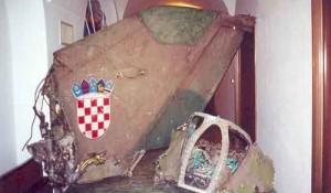 "Ostaci aviona R. Perešina mig-21bis, oborenog nad Gradiškom tokom hrvatske agresije ""Bljesak"" Foto: Flickr, modly"