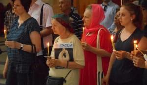 Црква Светог Марка, Београд: Парастос Србима масакрираним на Миљевачком платоу, 21.06.2017.