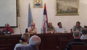 Banjaluka: Promocija knjige S. Štrbca Hronika 4 Foto: Marinko Učur, Twitter