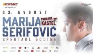 """Zbog godišnjice """"Oluje"""" promijenjen termin koncerta Marije Šerifović u Banjaluci"""