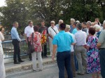Novi Grad: Spomen na Mostu spasa na Uni, 6.8.2017. Foto: Korana Štrbac