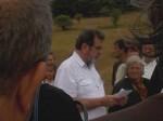 Janjile - Bravsko: Pomen za Krajišnike poginule u hrvatskom raketiranju izbjegličke kolone kod B. Petrovca, 7.8.2017. Foto: Korana Štrbac